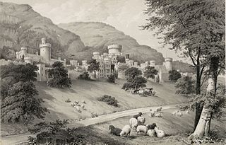 Gwrych Castle, Denbighshire; The Seat of Lloyd Hesketh, Bamford Hes