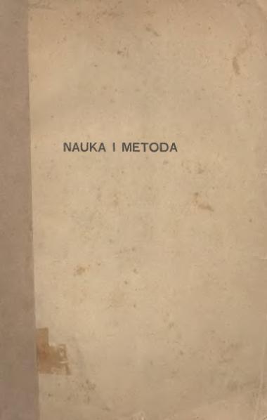 File:H. Poincaré-Nauka i Metoda.djvu