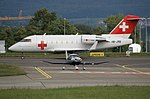 HB-JRB (cn 5530) Canadair CL-600-2B16 Challenger 604 Rega - Swiss Air Ambulance (40222814713).jpg