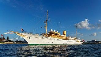 Royal yacht - HDMY Dannebrog