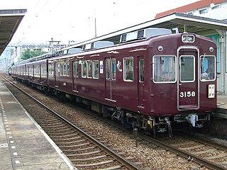 Hankyu 3100 series Japanese train type