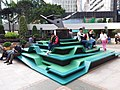HK 灣仔北 Wan Chai North 告士打道花園 Gloucester Road Garden sculpture Dec 2018 SSG 01.jpg