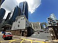 HK 金鐘 Admiralty 夏慤道 Harcourt Road police station September 2020 SS2 02.jpg
