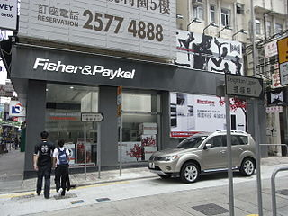 Fisher & Paykel major appliance manufacturing company