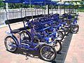 HK Disneyland Inspiration Lake 20070616 Four-wheel Bike on hire.JPG