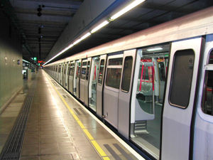 Urban rail transit - The Hong Kong MTR operates a high capacity rapid transit network.