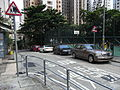 HK Sheung Wan Po Hing Fong slow road mark Aug-2012.JPG