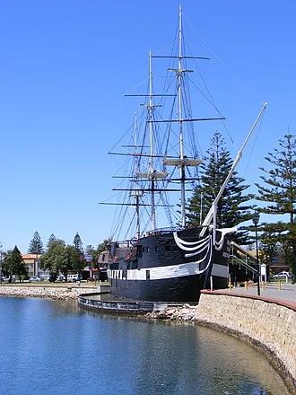 Glenelg North, South Australia - Replica of HMS Buffalo