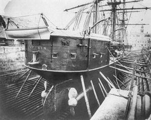 HMS Captain dock.jpg