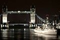 HMS Somerset strengthens her links with London. MOD 45146098.jpg