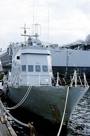 HMS Tiger Bay - Image: HMS Tiger bay Portsmouth
