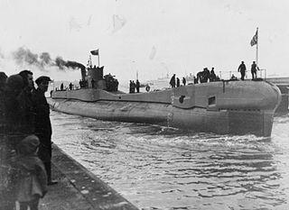 HMS <i>Trident</i> (N52) submarine of the Royal Navy