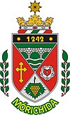 Coat of arms of Mórichida