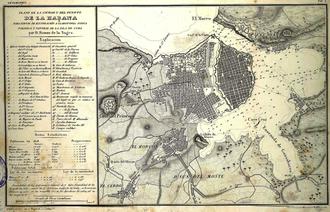 1846 Havana hurricane - Image: Habana ramon dela sagra