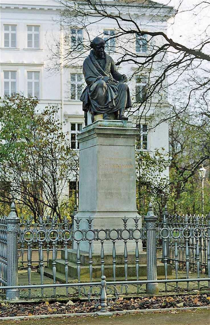 Hahnemanndenkmal leipzig