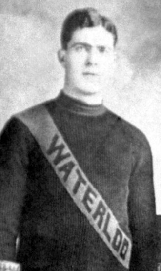 Waterloo Colts - Hal McNamara with the Waterloo Colts.