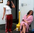 Haley Paige, Tory Lane on Set With Da Vinci Load 3.jpg