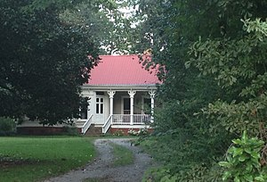 National Register of Historic Places listings in Panola County, Mississippi - Image: Hall Roberson House