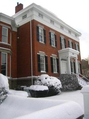 Hamilton White House - Image: Hamilton White House 1sm