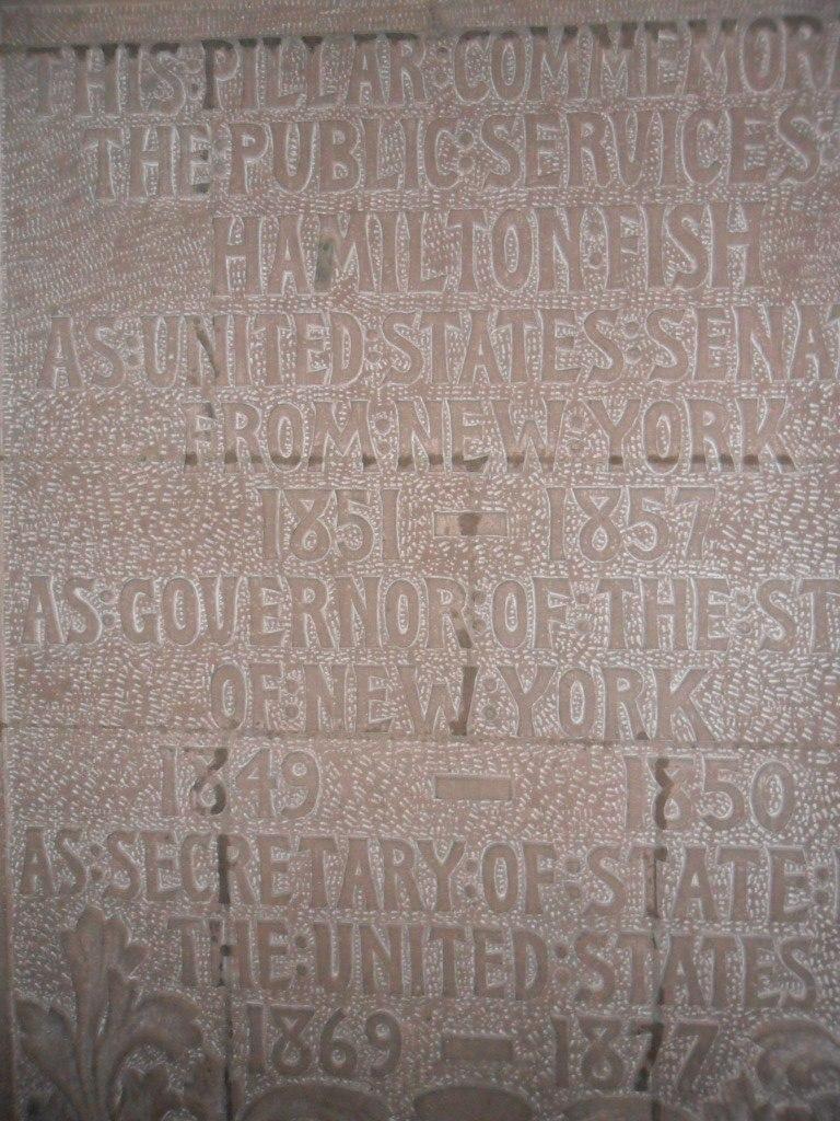 Hamilton Fish memorial