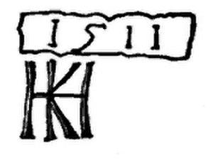 Hans von Kulmbach - Kulmbach's signature, 1511