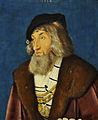 Hans Baldung (ca. 1484-1545) Portret van een man - National Gallery Londen 5-3-2015 11-17-58.JPG