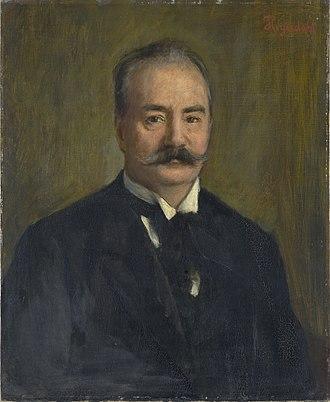 Johan Svendsen - Johan Svendsen, c.1890; portrait by Hans Heyerdahl.