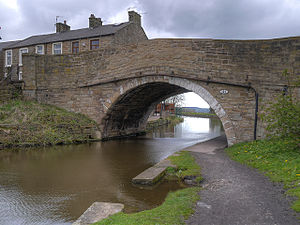 Listed buildings in Hapton, Lancashire - Image: Hapton Bridge
