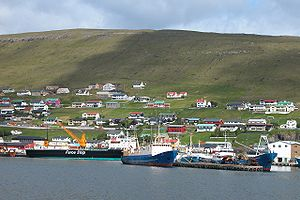 Runavík - The harbor in Runavik