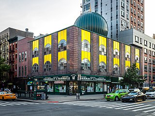 Masjid Malcolm Shabazz Mosque located in Harlem, New York
