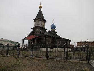 Khatanga, Russia - Khatanga Orthodox Church
