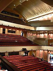 Haus für Mozart Zuschauerraum Parkett und Ränge 1