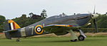 Preserved Sea Hurricane of the Fleet Air Arm.