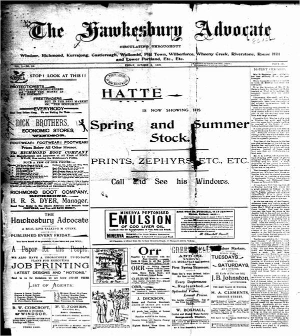 advocate classifieds the newspaper Sydney
