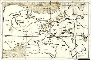 Hayasa-Azzi - Location of Hayasa-Azzi