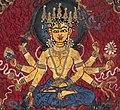 Healing goddess Mahamayun painted in yellow.jpg