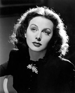 Hedy Lamarr Austrian-American actress and co-inventor of an early technique for frequency hopping spread spectrum communications