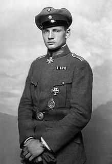 Heinrich Gontermann German flying ace