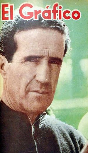 Helenio Herrera - Herrera covered on Argentine sports magazine   El Gráfico in 1964.