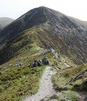 Pen yr Helgi Du - Pen yr Helgi Du from the Craig yr Ysfa ridge