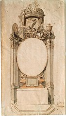 Design for an altar of the St. Lucas Guild in the Cathedral of Our Lady in Antwerp, 1689
