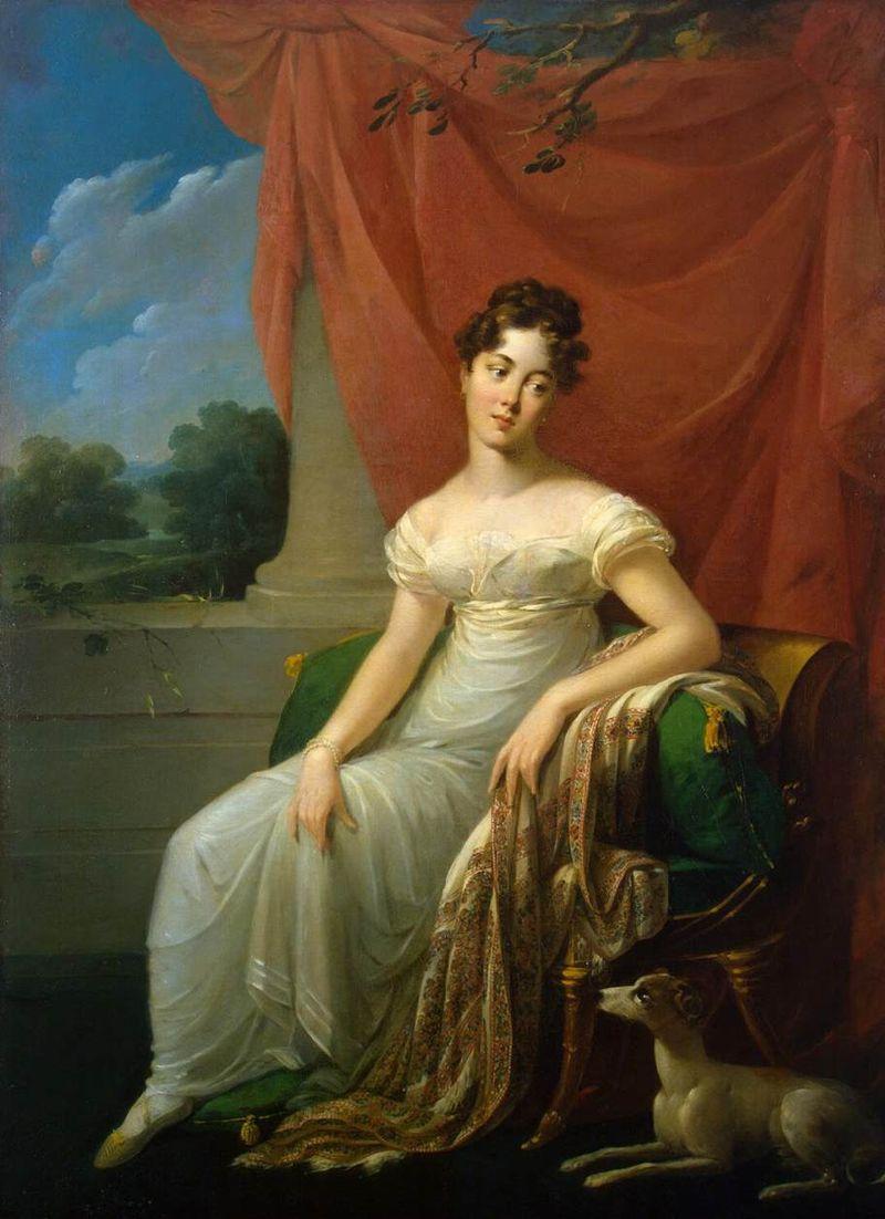 Анри-Франсуа Ризенер: Портрет Софии Апраксиной