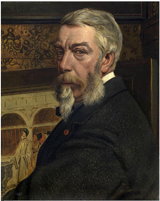 Jan August Hendrik Leys - Self-portrait