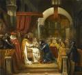 Henri de Bourgogne reçoit l'investiture du comté de Portugal, 1094 (Claude Jacquand, dit Claudius; 1841).png