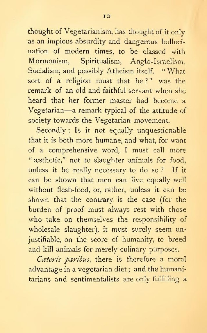 advantages of being a vegetarian essay