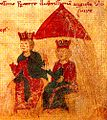 Henry VI and Constance of Sicily - Liber ad honorem Augusti.jpg