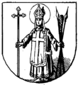 Herb Trzemeszna z 1866 roku.png