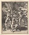 Hercules in gevecht met de hydra van Lerna Scènes met Hercules (serietitel), RP-P-OB-35.595.jpg