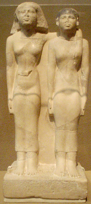 Hetepheres II - Hetepheres and her daughter Meresankh III.
