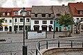 Hettstedt, a row of houses on the Freimarkt.jpg